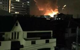 Một loạt vụ nổ dữ dội xảy ra tại căn cứ quân sự Mỹ ở Nhật Bản