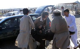 Đánh bom tại Tây Bắc Pakistan làm hơn 60 người thương vong