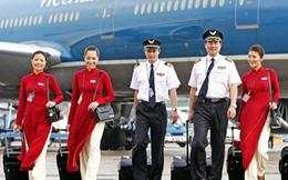 Từ 1/1/2015, lương phi công Vietnam Airlines cao nhất 102 triệu đồng/tháng