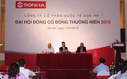 ĐHCĐ Sơn Hà: Dự kiến phát hành 18 triệu cổ phiếu để tăng vốn và 500.000 trái phiếu chuyển đổi