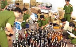 Thu giữ hàng chục ngàn chai rượu giả