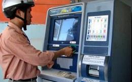 Gần 80% giao dịch qua ATM là rút tiền mặt