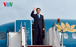 Thủ tướng rời Hà Nội đi dự Hội nghị Cấp cao Mekong-Nhật Bản