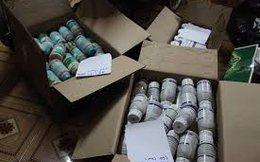 Bắt quả tang ổ sản xuất thuốc bảo vệ thực vật giả