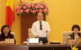 Khai mạc phiên họp thứ 40 Uỷ ban Thường vụ Quốc hội
