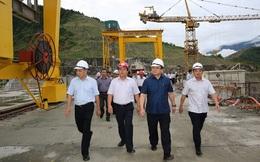 Cuối năm nay, thủy điện Lai Châu bắt đầu phát điện