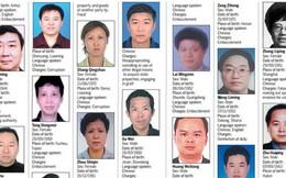 Trung Quốc tìm bắt 100 quan tham trốn ở nước ngoài