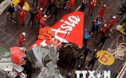 Tìm kiếm máy bay AirAsia: Tiếp tục bắt được tín hiệu hộp đen
