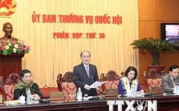 Sáng 25/2, khai mạc phiên họp thứ 35 Ủy ban thường vụ Quốc hội khóa XIII