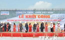 Hàn Quốc đầu tư 100 triệu USD xây dựng nhà máy ở Hà Nam