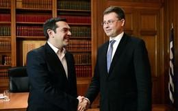 EU yêu cầu Hy Lạp hoàn tất tiến trình tái cấp vốn các ngân hàng