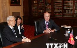Tổng Bí thư Nguyễn Phú Trọng gặp nghị sỹ Thượng viện, Hạ viện Hoa Kỳ