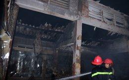 Cháy chợ Nong tại Thừa Thiên-Huế
