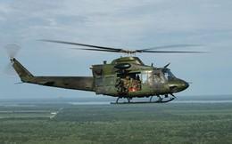 Trực thăng quân sự rơi tại Bình Chánh, TP.HCM