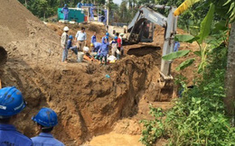 Hà Nội thúc Vinaconex báo cáo tiến độ xây dựng đường ống sông Đà 2