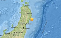 Động đất 6,8 độ Richter ở đông bắc Nhật Bản