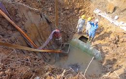 Đường ống nước sông Đà:35 tháng, vỡ 10 lần