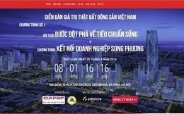 Lần đầu tiên trong ngành bất động sản: Hàng trăm chuyên gia và doanh nghiệp hội tụ tại Hà Nội