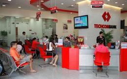 Techcombank: Cho vay khách hàng quý I tăng 2%, nợ xấu 2,03%
