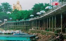 Vẫn chưa có Quyết định cưỡng chế Bến thuyền Thiên Nga tại Hồ Núi Cốc