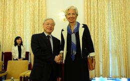 Tổng Bí thư tiếp tổng giám đốc IMF tại TP.HCM