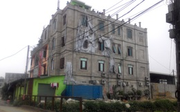 """Hà Nội: Thanh tra xây dựng xin """"chịu"""" trước """"lâu đài"""" không phép"""