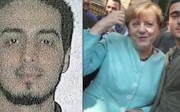 Bà Merkel từng chụp selfie với nghi phạm khủng bố Brussels?