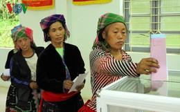 98,77% cử tri trên cả nước đã tham gia bỏ phiếu bầu cử