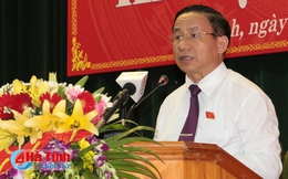 Ông Lê Đình Sơn tái đắc cử Chủ tịch HĐND tỉnh Hà Tĩnh