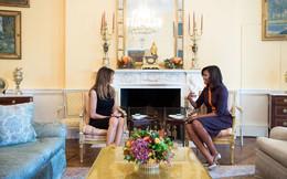 Khi Melania Trump gặp Michelle Obama, những bộ đầm nói lên tất cả