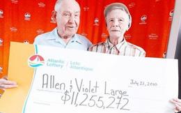 Đôi vợ chồng già dành 11 triệu đô trúng xổ số cho người nghèo: Lòng tốt khiến trái đất là hành tinh tuyệt vời nhất