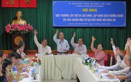 TP.HCM hiệp thương lần 3 giới thiệu 36 người ứng cử ĐBQH