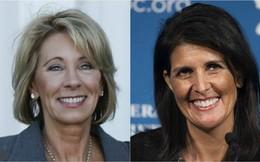 Ông Trump đề cử hai phụ nữ vào nội các