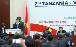Chủ tịch nước dự Diễn đàn doanh nghiệp Việt Nam -Tanzania