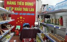 Hàng Việt lép vế trước sự đổ bộ ồ ạt của hàng Thái Lan