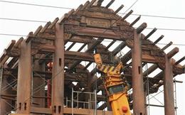 Cận cảnh nhà gỗ 30 tỷ đồng của đại gia Hà Tĩnh