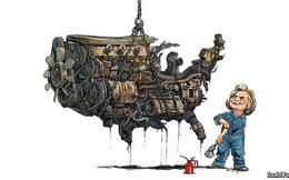 Liệu Hillary Clinton có thể sửa chữa cỗ máy kinh tế Mỹ đang rệu rã?