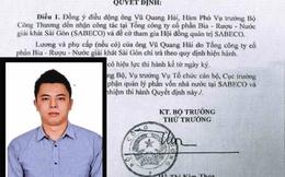 Vũ Quang Hải, con trai ông Vũ Huy Hoàng rút khỏi HĐQT Sabeco
