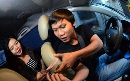 Uber cù nhầy, chủ xe bối rối