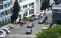Đoàn xe Tổng thống Obama trên đường phố Sài Gòn