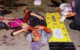 Hiện trường đẫm máu sau 8 vụ đánh bom liên tiếp tại Hua Hin, Phuket... gây rúng động Thái Lan