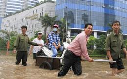 Hà Nội ngập nặng: Mải xây cao ốc, quên thoát nước?