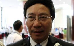Phó Thủ tướng Phạm Bình Minh: Trung Quốc xả nước sông Mê Kông là tích cực, nhưng chưa có cơ chế kiểm soát xây đập thủy điện