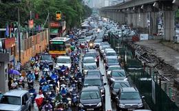 Công trình đường sắt trên cao tại Hà Nội: Dân khốn đốn vì đại công trường