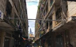 Sau chỉ đạo của Bí thư Đinh La Thăng: Người dân vẫn ở trong chung cư chờ sập