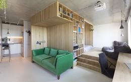 Ngắm không gian sống cực thông minh, sáng tạo trong ngôi nhà 47m2