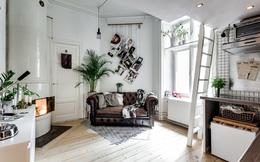 Học cách bố trí căn hộ 17m2 méo mó thành không gian sống lý tưởng