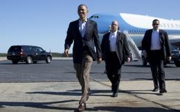 Chuyên cơ Obama hạ cánh sớm, miễn kiểm tra an ninh tại Nội Bài