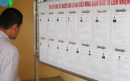 Bầu cử ĐBQH khóa XIV: Cử tri là nhân tố quyết định cuối cùng