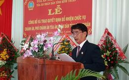 Bình Thuận cóChánh án Tòa án nhân dân mới